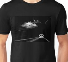 Storm Clouds on Dark Highway Unisex T-Shirt