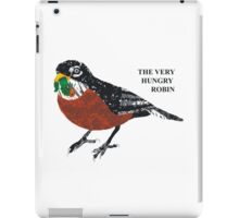 The Very Hungry Robin iPad Case/Skin
