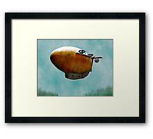 Airship Framed Print