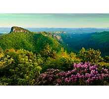 June Evening at Linville Gorge Photographic Print
