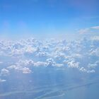 From an Airplane window by Jacker
