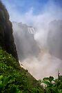 Victoria Falls, view of the Cauldron. Zimbabwe, Africa. by photosecosse /barbara jones