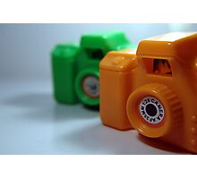 Toy Cameras Photographic Print