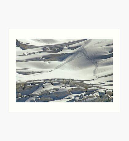 Cambrena Glacier, Switzerland Art Print