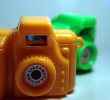 Toy Cameras Side by JustSaul
