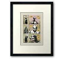 Infused Man - Page 5 Framed Print