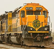 Trains - Locomotive - Ready for Service by Buckwhite