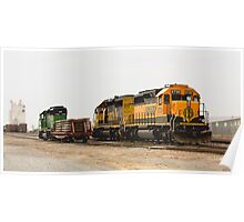 Trains - Size Matters Poster