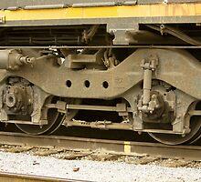 Trains - Locomotive Wheel Detail by Buckwhite