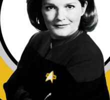 I do it the Janeway Sticker