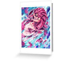 Rose Quartz Greeting Card