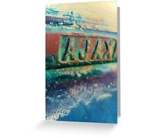 Ajax Mail Slot Xpro Greeting Card