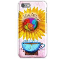 What my #Coffee says to me - May 2 HOPE2015 iPhone Case/Skin