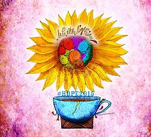 What my #Coffee says to me - May 2 HOPE2015 by catsinthebag