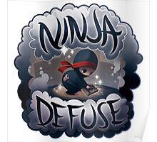 SPARKLES Ninja Defuse (OFFICIAL) Poster