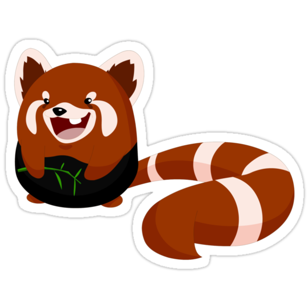 """""""Toof"""" The Red Panda by lemwell"""