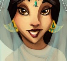 Tribal Princess Jasmine Sticker