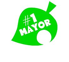 #1 Mayor - Animal Crossing Photographic Print