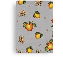 fruit and blossoms Canvas Print