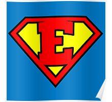 Super E Poster