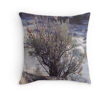 Lone Sage Throw Pillow