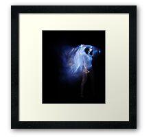 I am the Storm Framed Print