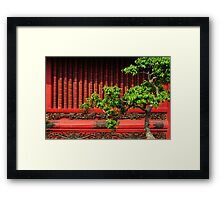 Temple of Literature, Hanoi Framed Print