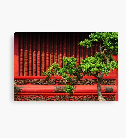 Temple of Literature, Hanoi Canvas Print