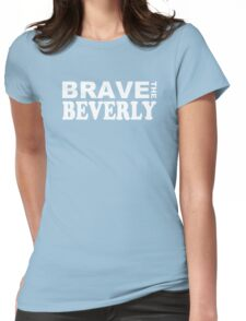 """Epcot - """"Brave the Beverly"""" Womens Fitted T-Shirt"""