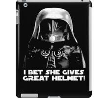 Dark Helmet (5) iPad Case/Skin