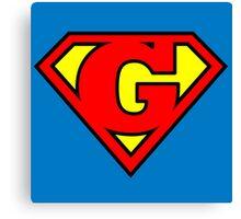 Super G Canvas Print