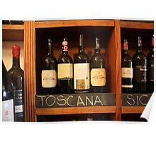 Vino Toscana Poster