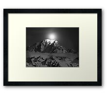 until it sleeps Framed Print