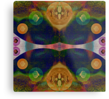 Inside the mind of magic is mystery Metal Print