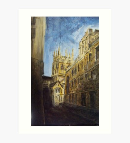 Oxford England Art Print