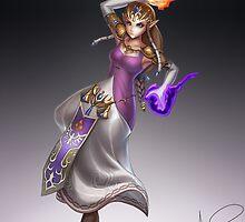 Zelda by hybridmink