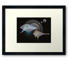 Aquon 38 Framed Print