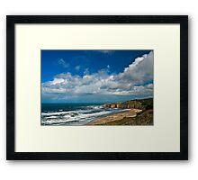 Coastal Headlands San Gregorio Framed Print