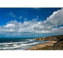 Coastal Headlands San Gregorio Photographic Print