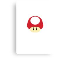 Super Mario - Super Mushroom Canvas Print