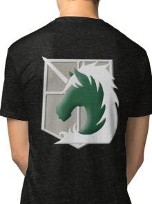 Military Police Emblem Tri-blend T-Shirt