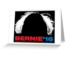 Bernie Sanders for President - Hair Greeting Card