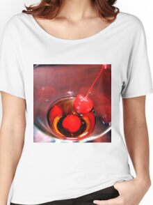 With A Cherry, Please Women's Relaxed Fit T-Shirt