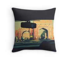 Welcome to the Pink City, Jaipur, India Throw Pillow