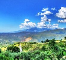 Panoramic of italy by Ciccio349