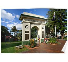 Memorial Arch - Kiama Poster
