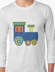 Kids Train Engine Long Sleeve T-Shirt