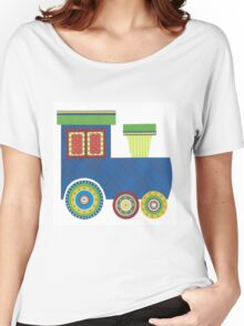 Kids Train Engine Women's Relaxed Fit T-Shirt