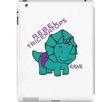RAWR - Baby Triceratops iPad Case/Skin
