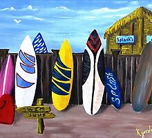 Splashs' Surf Shack...... by WhiteDove Studio kj gordon